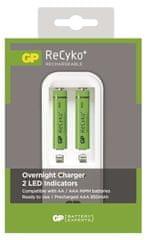 GP polnilec baterij GP PB410 + 2 AAA ReCyko
