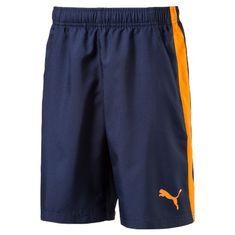 Puma kratke hlače ACTIVE ESS Woven Shorts, modre/oranžne