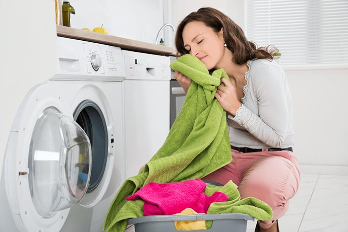 Prádlo ze sušičky je nádherně hebké a nadýchané