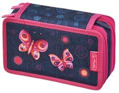 Deuter Pencil Case raspberry-check  f2a68a4af5