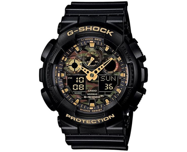 Casio The G/G-Shock GA 100CF-1A9