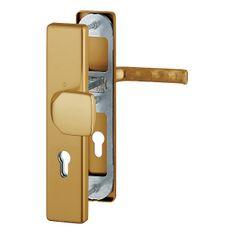 Hoppe varnostna garnitura London 54/2222A/2440/113, F4, gumb/kljuka, 92/8 mm