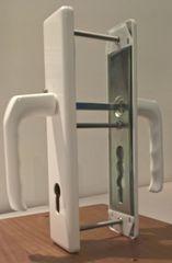 Hoppe varnostna garnitura London 113/2221/2220, F9016, kljuka/kljuka, 92/8 mm