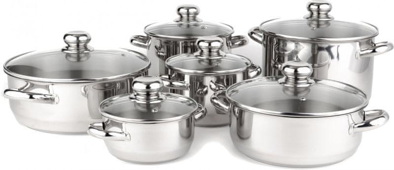 Kolimax Premium sada nerezového nádobí 12 dílů