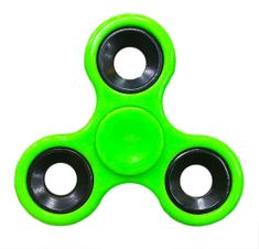 Fidget spinner zelený