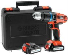 Black+Decker akumulatorski udarni vrtalni vijačnik EGBL148KB