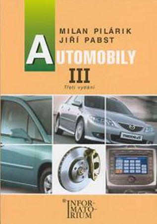 Pilárik Milan, Pabst Jiří: Automobily III. pro 3. ročník UO Automechanik