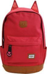 Street nahrbtnik Round Cat, roza