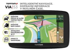 TomTom VIA 53 Europe (48 zemí) - LIFETIME mapy