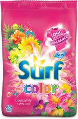 Surf Color prášek Tropical Lily & Ylang Ylang, 60 praní