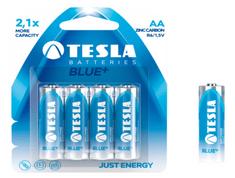 Tesla baterija AA Blue+, blister, 4 kosi (R06)