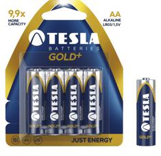 Tesla baterija AA Gold+, blister, 4 kosi (R06)