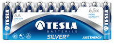 Tesla baterija AA Silver+, folija, 10 kosov (LR06)