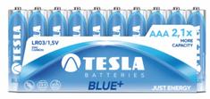Tesla baterija AAA Blue+, folija, 10 kosov (R03)