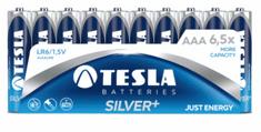 Tesla baterija AAA Silver+, folija, 10 kosov (LR03)