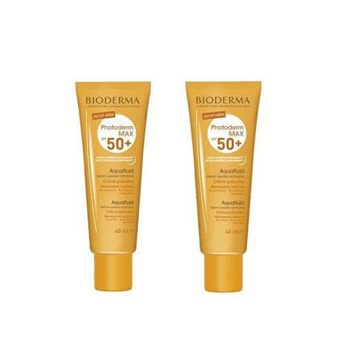 Bioderma Sada Aquafluid Photoderm MAX SPF 50+ 40 ml 1+1