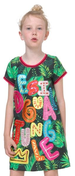 Desigual dívčí šaty Cheyenne 116 vícebarevná