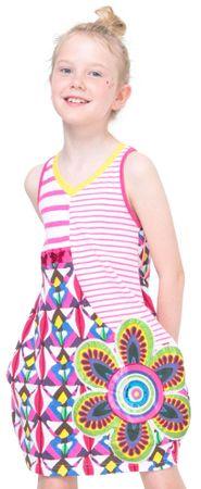 Desigual dekliška obleka Jartum 128 večbarvna