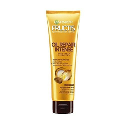 Garnier Bezoplachová péče pro velmi suché vlasy Fructis (Oil Repair Intense Care Cream Leave-In) 150 ml