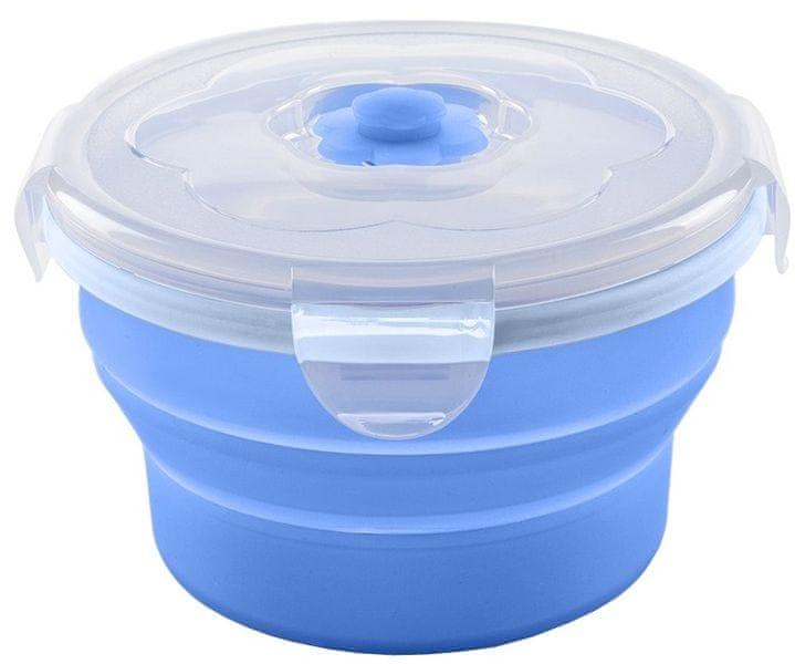 Nuvita Skládací silikonová miska 230 ml, Blue