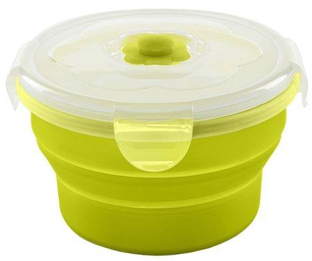 Nuvita Skladacia silikónová miska 230 ml, Green