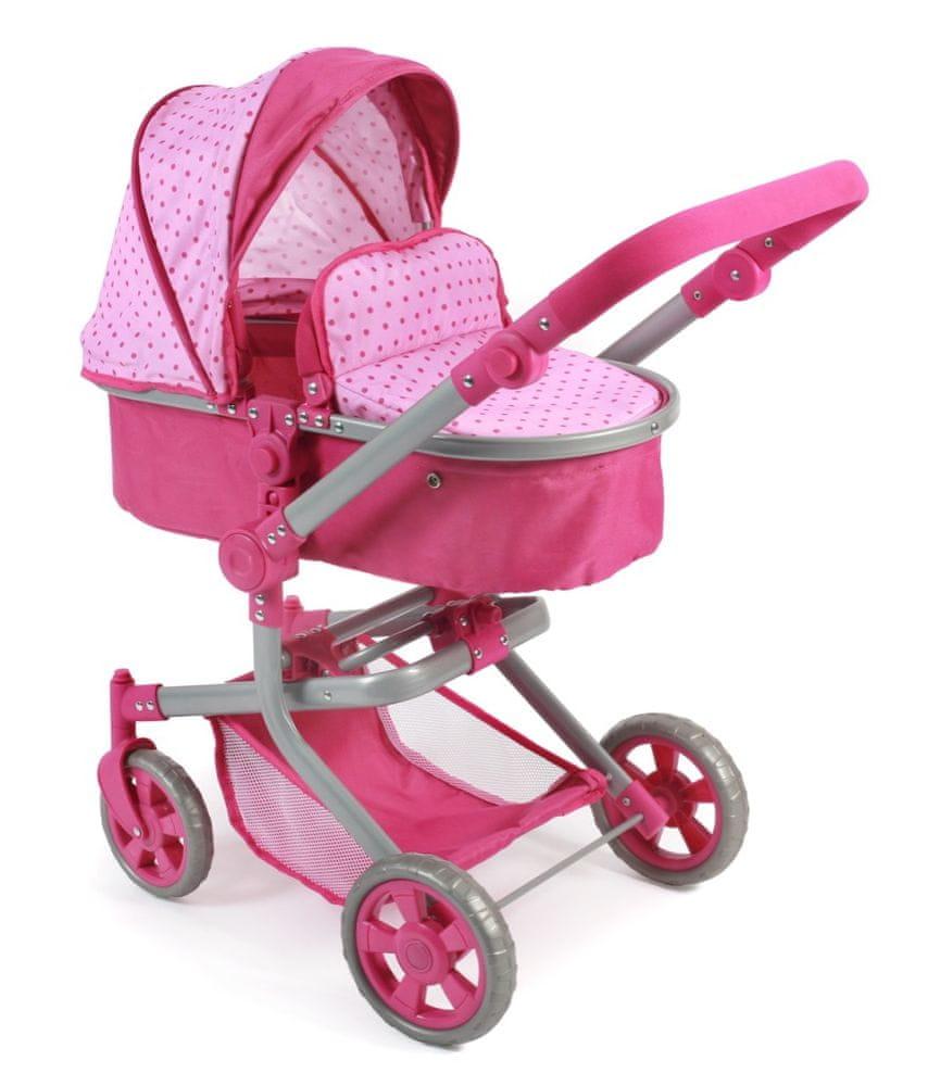 Bayer Chic Kombinovaný kočárek MIKA, růžový