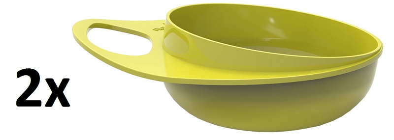 Nuvita Plastové misky, 2 ks - Green