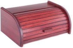 Kolimax skrinja za pecivo ali kruh, barva češnje