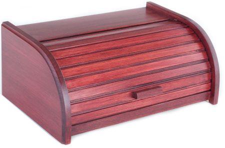 Kolimax box na pečivo 42 cm buk, farba čerešňa