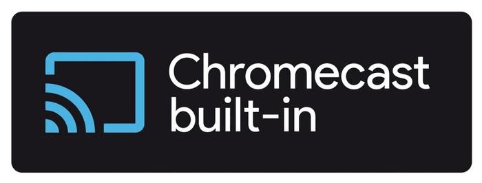 vestavěný Chromecast