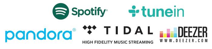 on-line hudební služby