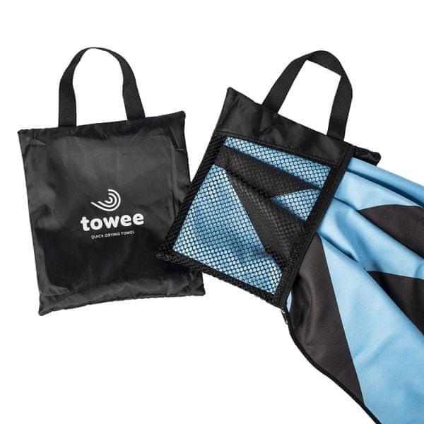 Ručník - rychleschnoucí osuška TOWEE, Droplet