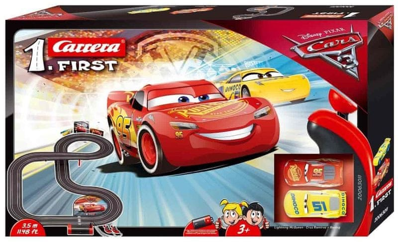Carrera FIRST - 63011 Disney Cars 3