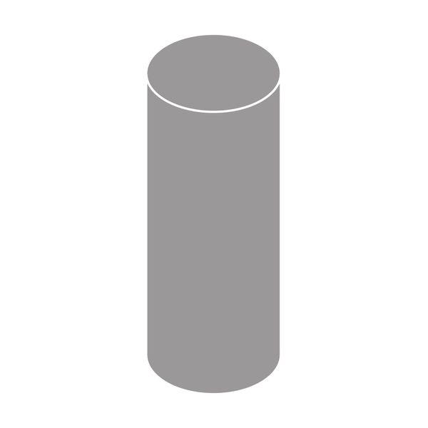 LanitPlast Svodová trubka s hrdlem DN 125 šedá barva 3 m
