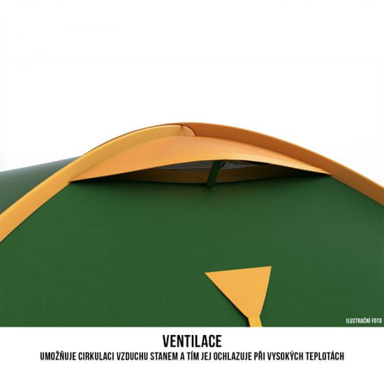 Husky namiot Bizon 4 os classic green