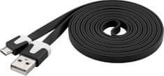 PremiumCord kabel Micro-USB (2.0; 2m), czarny