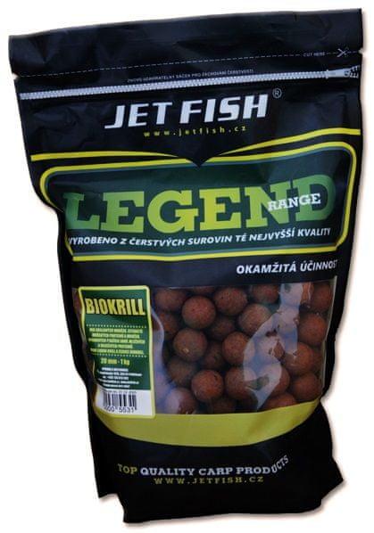 Jet Fish Boilie Legend Range Biokrill 10 kg, 20 mm