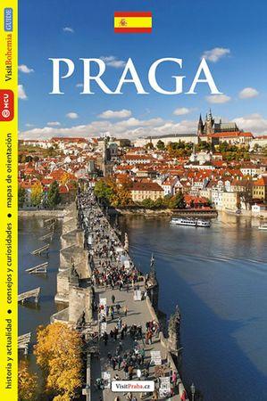 Kubík Viktor: Praha - průvodce/španělsky