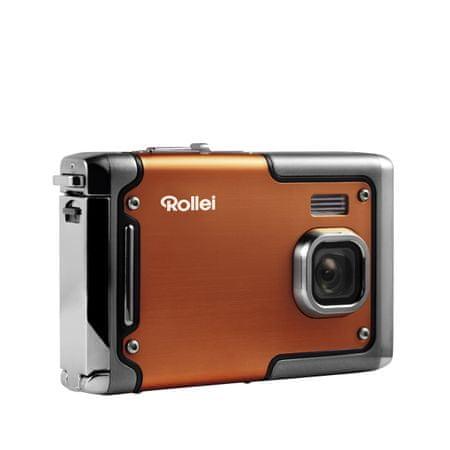 Rollei digitalni fotoaparat Sportsline 85, podvodni, oranžen
