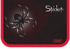 Street peresnica Spider, z eno zadrgo in dvema preklopoma, polna