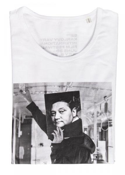 MFF Karlovy Vary dámské bílé tričko XL