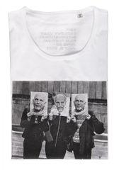 MFF Karlovy Vary pánske biele tričko S