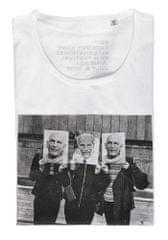 MFF Karlovy Vary dámske biele tričko M