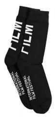 MFF Karlovy Vary unisex černé ponožky