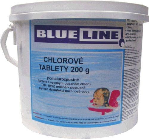 Blue Line Pomalurozpustné chlorové tablety - 505603