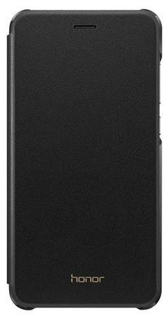 Huawei ovitek za Huawei Honor 8 Lite na preklop, črn