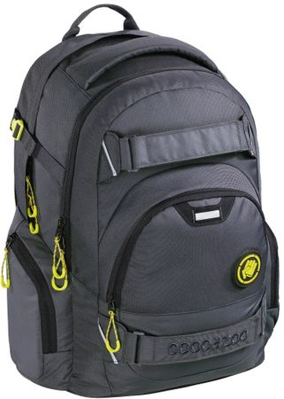CoocaZoo Školský batoh CarryLarry2 Solid Shadowman