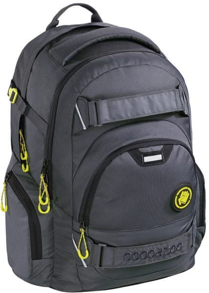 CoocaZoo Školní batoh CarryLarry2 Solid Shadowman