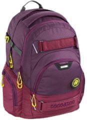 CoocaZoo Školní batoh CarryLarry2 Solid Berryman