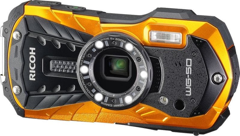 Ricoh WG-50 Orange